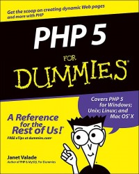 Image of PHP 5 for dummies